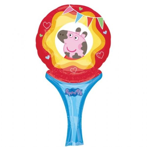 Peppa Pig Balloon - 12'' Inflate A Fun (each)